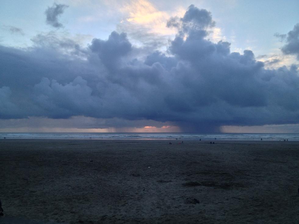 Storm at Oregon Coast