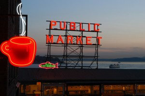 Pike Place Market -M