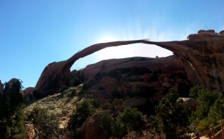 Landscape Arch is slowly crumbling, so see it while you can!
