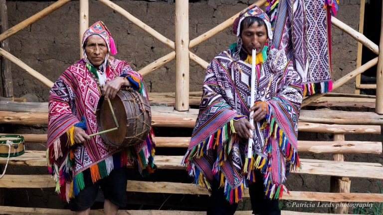 Andean flute and drum music